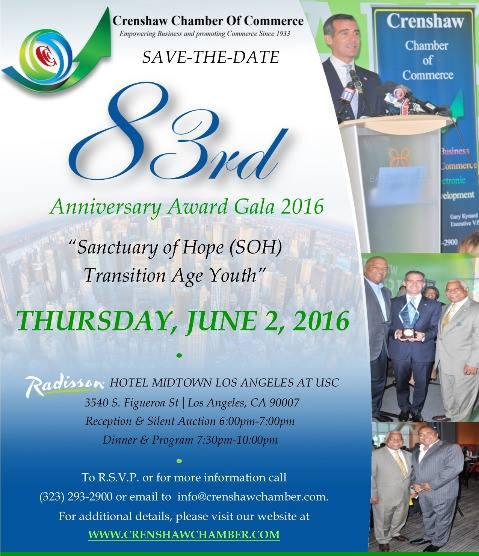 Crenshaw Chamber 83rd Gala